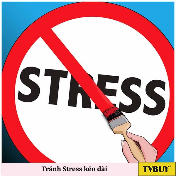 hạn chế stress kéo dài