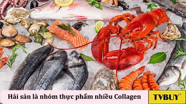 các loại thực phẩm giàu collagen