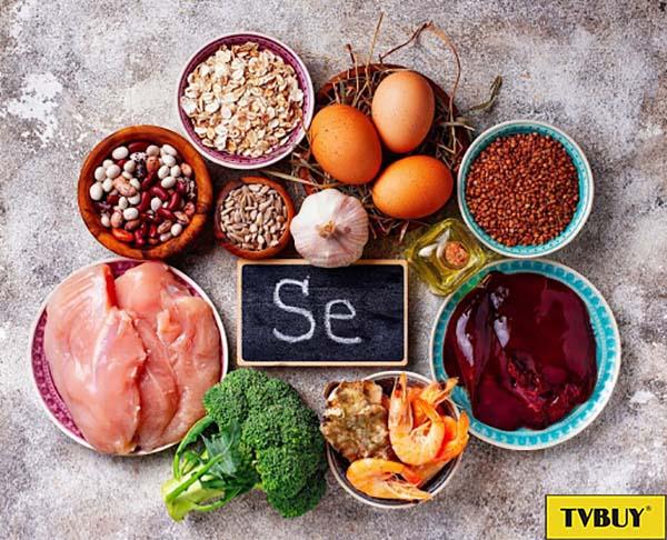 thực phẩm giàu selenium tốt cho da