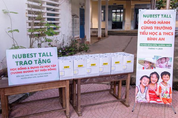 Những phần quà mà TVBUY chuẩn bị sẵn sàng trao tặng cho trẻ em miền Trung